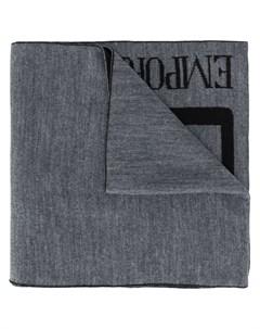 легкий шарф с логотипом Ea7 emporio armani