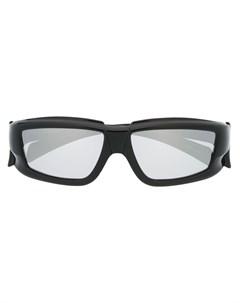 солнцезащитные очки в квадратной оправе Rick owens
