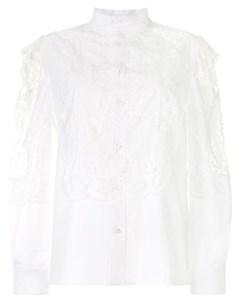 Блузка с кружевом Toga