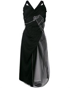 Платье миди со сборками Quetsche