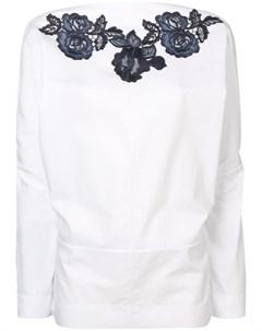 Блузка с вышивкой Antonio marras