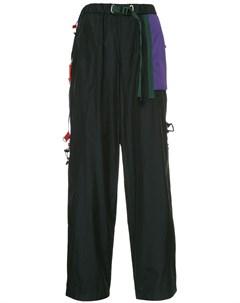 Спортивные брюки с контрастными карманами Kolor