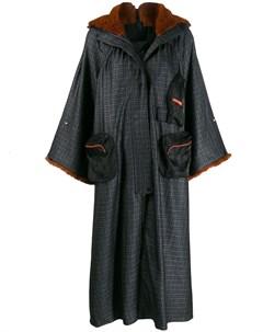 Пальто оверсайз с капюшоном Quetsche