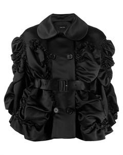 Куртка со сборками Simone rocha