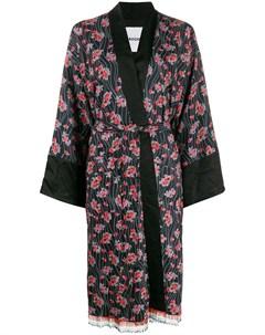 халат кимоно с цветочным принтом Koché
