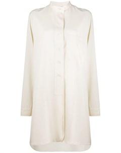Платье рубашка с воротником стойкой Lemaire