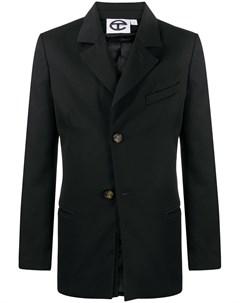 Однобортный пиджак строгого кроя Telfar