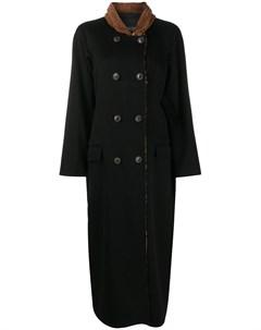 Длинное двубортное пальто Simonetta ravizza