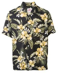 Рубашка с короткими рукавами и цветочным принтом Battenwear