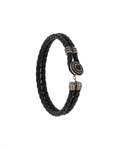 плетеный браслет Ermenegildo zegna