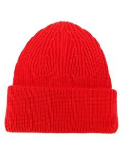 шапка бини в рубчик Roberto collina