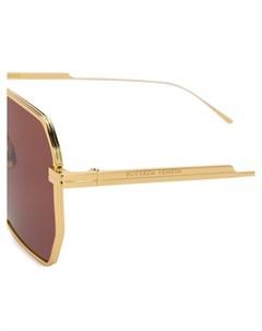 Солнцезащитные очки авиаторы Bottega veneta eyewear