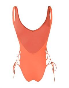 Слитный купальник Sian со шнуровкой Sian swimwear