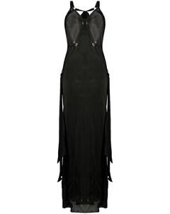 Платье миди с портупеей Bordelle