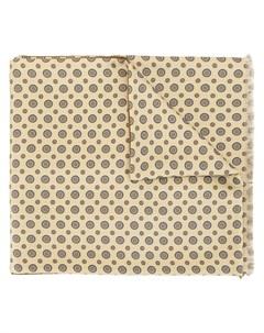 Галстук с геометричным принтом Kent & curwen