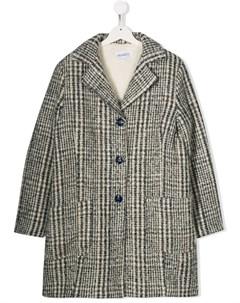 пальто в клетку Simonetta