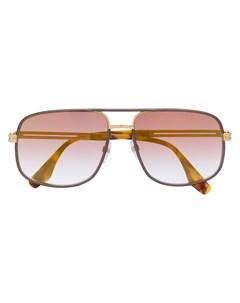 солнцезащитные очки в массивной оправе Marc jacobs