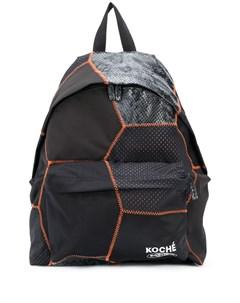 рюкзак с геометричными вставками Koché