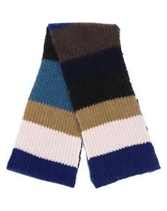 шарф в стиле колор блок Marni