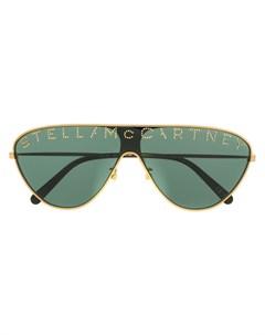 Солнцезащитные очки Stella с логотипом Stella mccartney eyewear