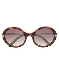 Солнцезащитные очки в круглой оправе Roberto cavalli