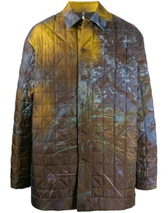Пальто с принтом Oamc