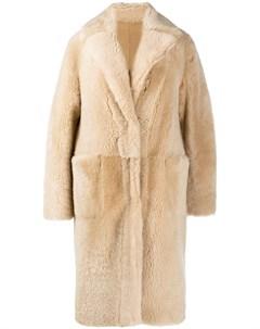 Двустороннее однобортное пальто Manzoni 24