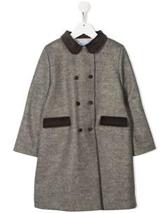 двубортное пальто Siola