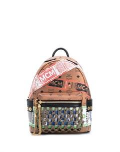 рюкзак Visetos с принтом Mcm
