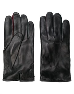 перчатки с тисненым логотипом Paul smith