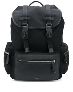 рюкзак с карманами и пряжками Giorgio armani
