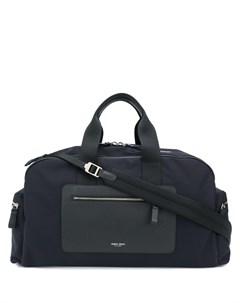 дорожная сумка с контрастной окантовкой Giorgio armani