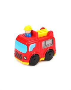 Инерционная игрушка Пожарная машинка Жирафики
