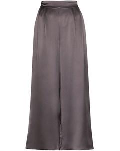 Укороченные брюки широкого кроя Le kasha