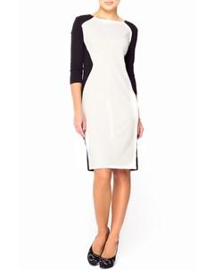 Платье с контрастными вставками Majaly