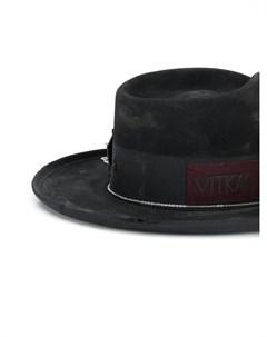 Шляпа с эффектом потертости Nick fouquet