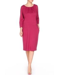 Платье с защипами по горловине ODEKS-STYLE Odeks-style