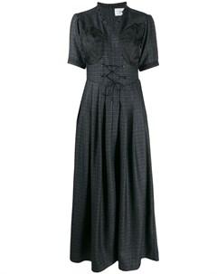Расклешенное платье с короткими рукавами Quetsche