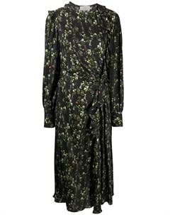 Платье Nicola с цветочным принтом Preen by thornton bregazzi
