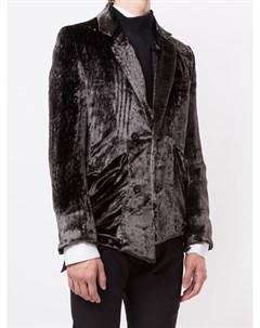 Бархатный пиджак Sulvam