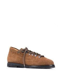 Туфли на шнуровке из коллаборации с Jacques Soloviere Mackintosh