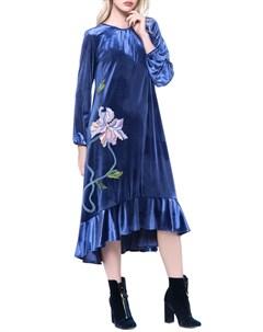 Изящное платье с аппликацией Yukostyle
