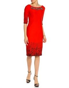 Платье с удлиненным рукавом Kristina