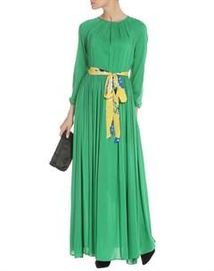 Длинное летнее платье с поясом NATALIA PICARIELLO Natalia picariello