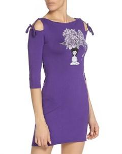 Платье миди с завязками на плечах Grishko