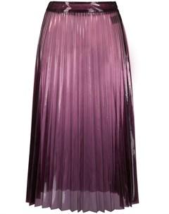 Прозрачная плиссированная юбка Ssheena