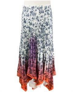 Плиссированная юбка с завышенной талией Ssheena