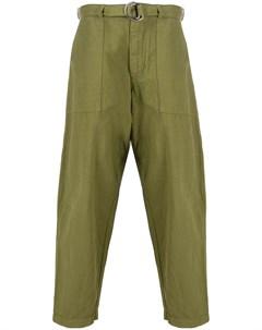 Зауженные брюки Ymc