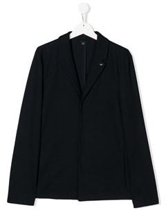 однобортный пиджак Emporio armani kids