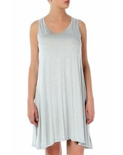 Трикотажное платье с асимметричным низом Levall